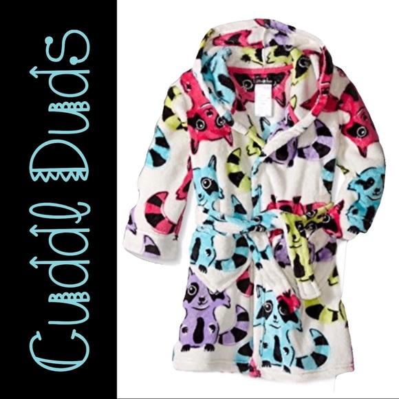 Cuddl Duds for Girls Robe (M 7 8) 💕 00b7e46cd